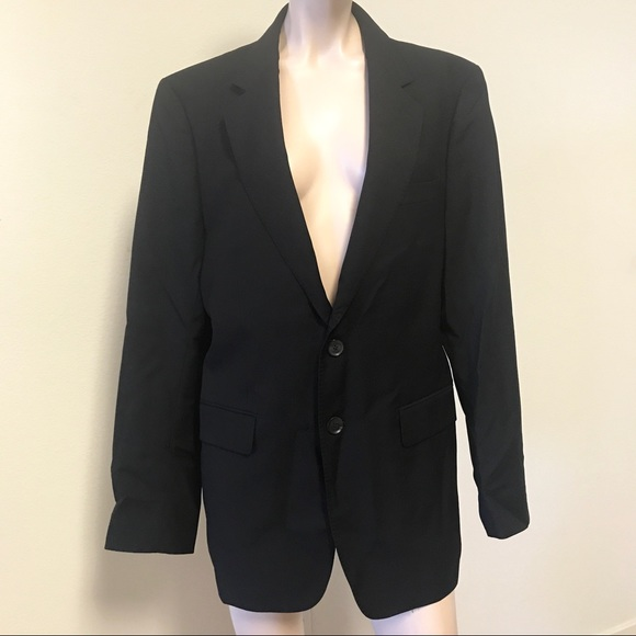 Gucci employee uniform sport coat blazer 48 black